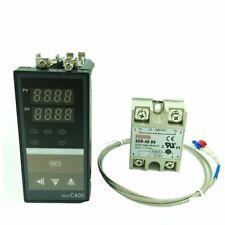 Digital Temperature Controller Thermostat Thermocouple Sensor Thermal Indicators