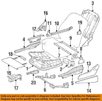 MERCEDES OEM 91-93 300TE Seat Track-Seat Adjust Knob Left 1248211958