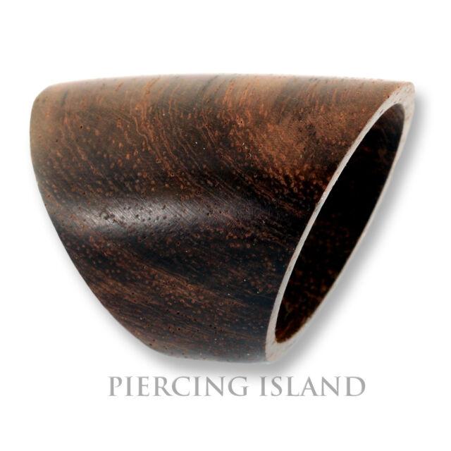 Design Ring Goa Holz Holzring Natur Organischer Schmuck Handarbeit AR020