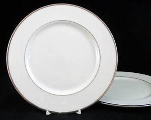 Lenox-MONTCLAIR-2-Salad-Plates-GOOD-CONDITION-mfg-2nd