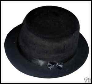 CHILD-BLACK-PARTY-HATS-10-HATS-PARTY-FASHON-HATS