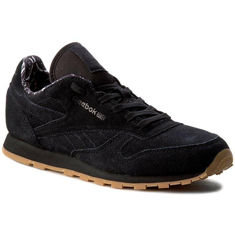 Reebok Classic Leather TDC bd5049 femmes Enfants Turnchaussures chaussures De Sport noir hit