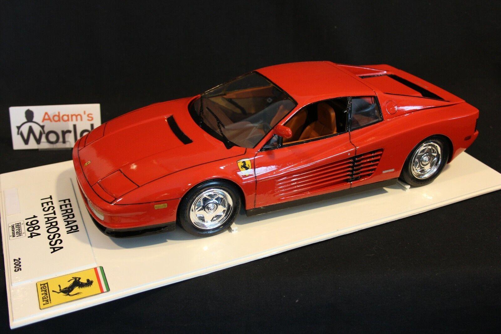 Revell (gebouwde kit) Ferrari Testerossa 1984 1 12 rood (PJBB)