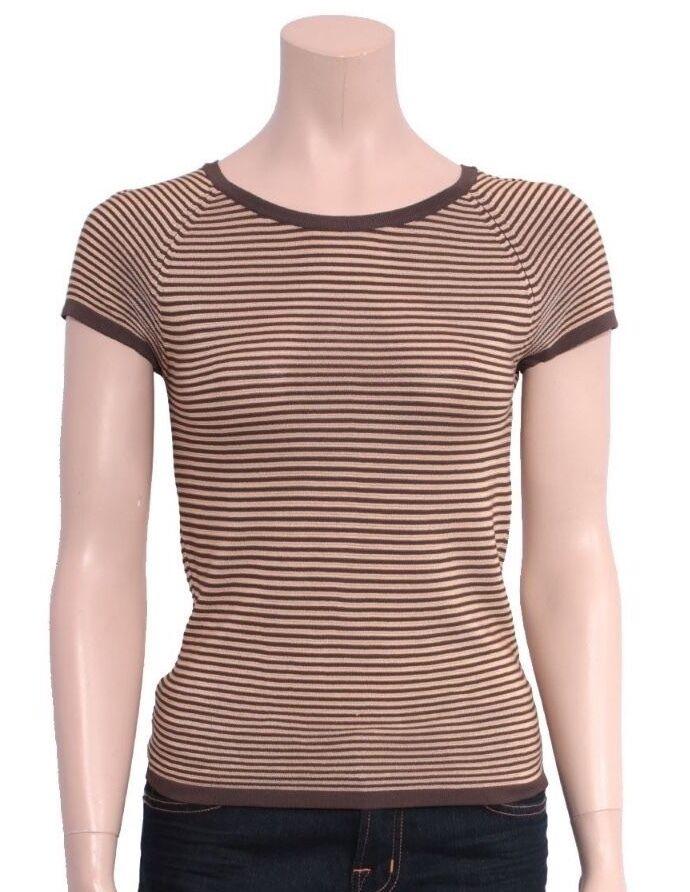 GIORGIO ARMANI Striped T-shirt (Größe 38)