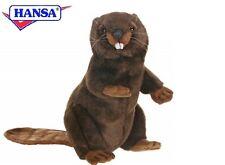 Biber aufwartend 29 cm Kuscheltier Stofftier Plüschtier Hansa Toy 3355