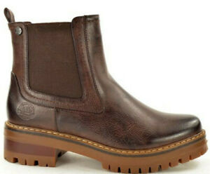 Ladies-Chelsea-Ankle-Boots-Chunky-Dealer-Block-Heel-Grip-Sole-Winter-Boots
