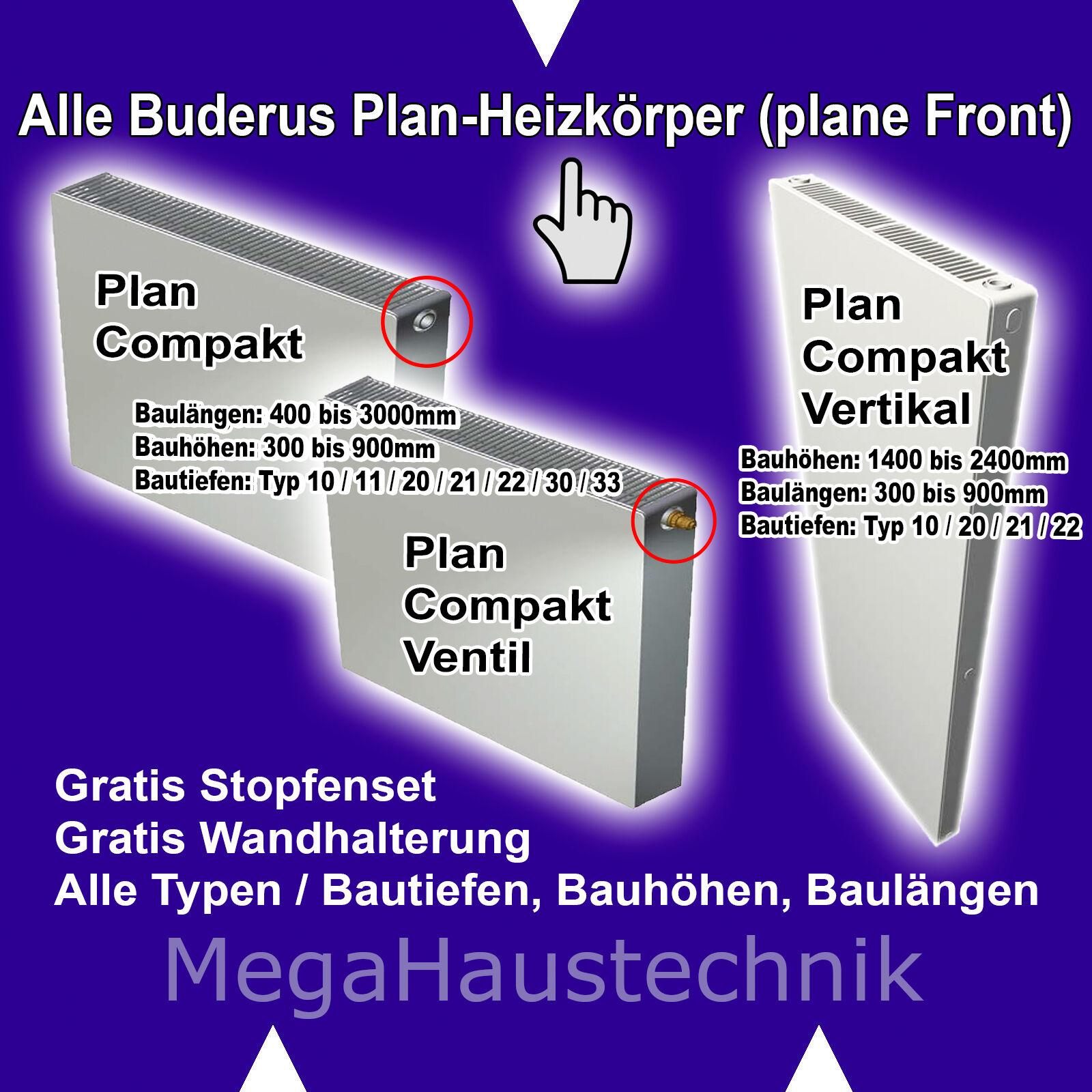 2018 NEU: NEU: NEU: ALLE BUDERUS HEIZKÖRPER + ALLE SOFORT lieferbaren COMPAKT PROFILIERTE 006f8a