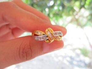 .30 Carat Diamond Twotone Gold Ring 10k sepvergara