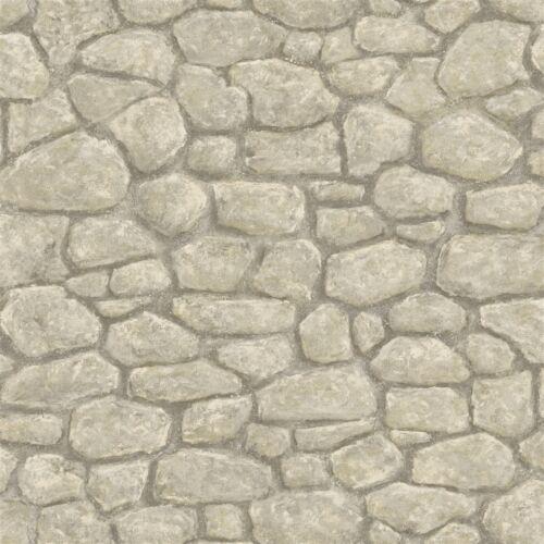 Gris Creek Rock sur Simple Murs Papier Peint HTM49437//BBC49437