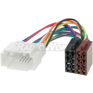 Details about Honda CR-V Car Stereo Radio ISO Wiring Harness Adaptor on
