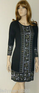 BNWT-Monsoon-Faith-Floral-Jacquard-Knit-Dress-Check-Measurements