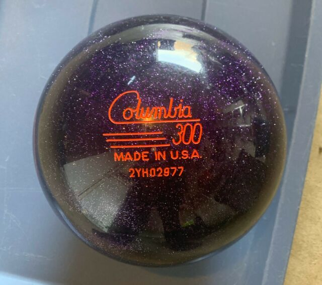 10 lb Columbia 300 Menss White Dot Bowling Ball-Pink//Black