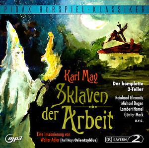 Sklaven-der-Arbeit-Der-komplette-2-Teiler-Pidax-Hoerspiel-mp3-CD-NEU-OVP