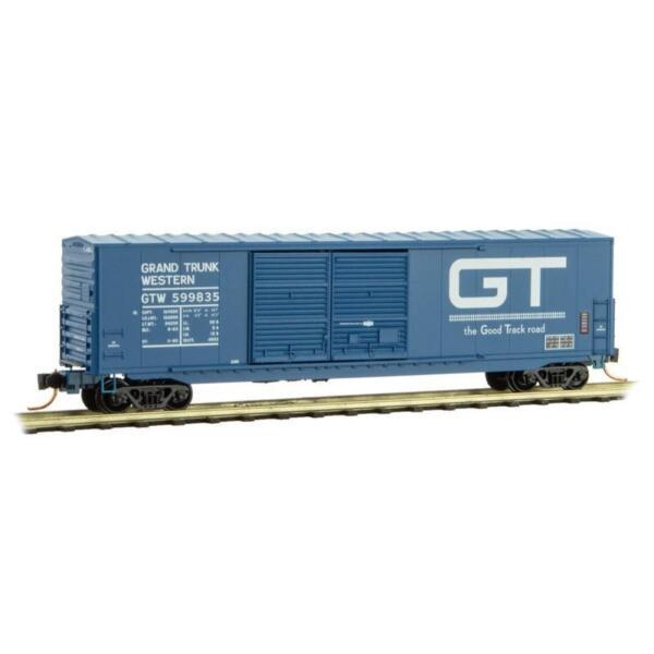 Micro-Trains MTL N Grand Trunk Western 50/' Boxcar 18200090