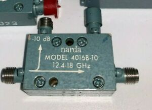 Narda-Modelo-4016B-10-12-4-18-GHz-Acoplador-1pc-10dB-nuevo