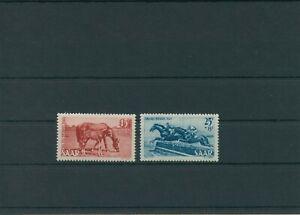 Germany-Saar-Saarland-vintage-yearset-1949-Mi-265-266-Mint-MNH-More-Shop