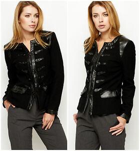 Leather trench blazer M/L WXNKsuN