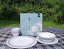 16 PIECE CAMPING TABLEWARE 4 PERSON MELAMINE SET WITLEY DESIGN