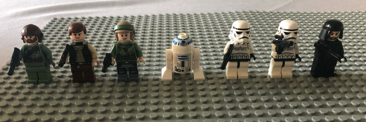 LEGO Minifigure Stern Wars  8038-1 The kämpfen of Endor w  Leia, Han & MORE
