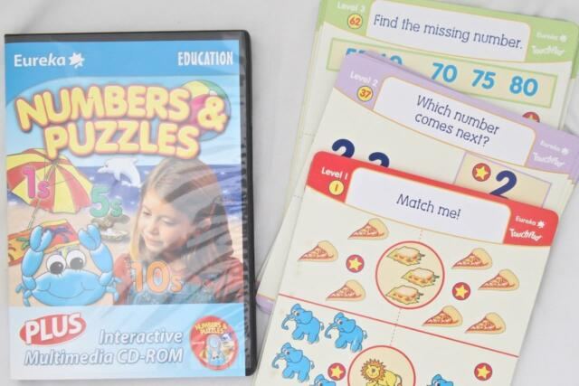 Numbers & Puzzles Maths PC Game PLUS Equation Flash Cards Windows 7+ Age 3-6+