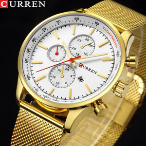 CURREN-8227-New-Luxury-Watch-Men-Watches-Gold-Steel-Quartz-Calendar-Wristwatches
