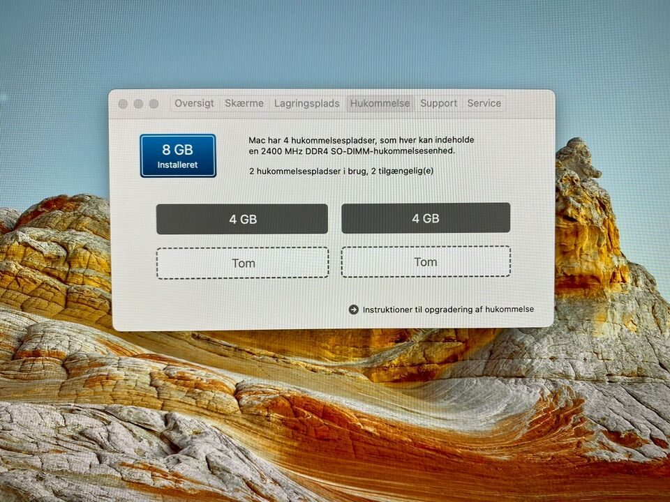 iMac Pro, 3,4 GHz, 8 GB ram
