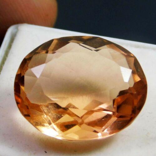 100/% Natural 13.20Cts Cushion Cut Certified Brown Loose Morganite Gemstone 4791