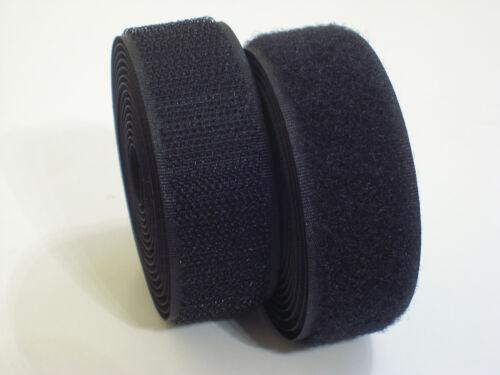 75 €//m 1 metros industria cinta de velcro para aufnähen//negro o blanco 1,90 €//m-9
