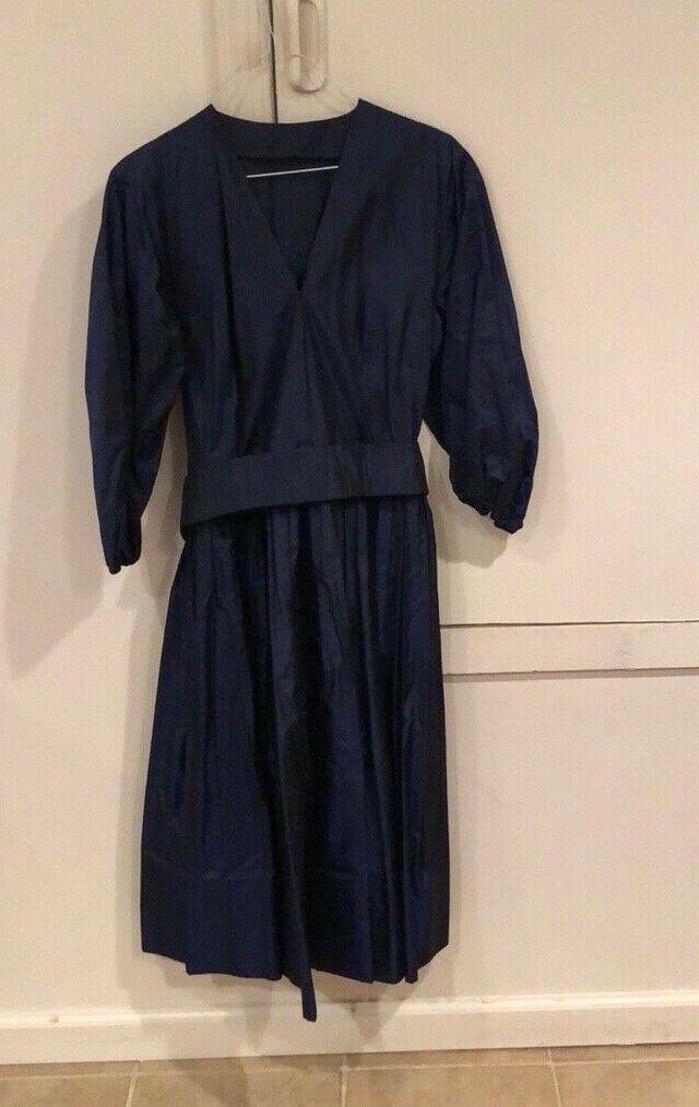 Vintage, Pauline Trigere silk dress - image 2