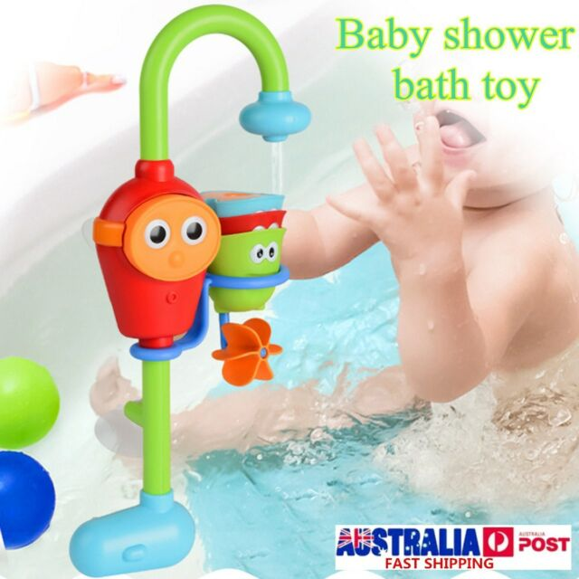 Cartoon Baby Shower Bath Toys Spray Water Bathroom Pool Toy Game Children Gift