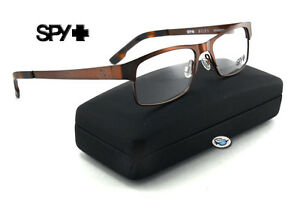 6b689b9347 Image is loading New-Spy-Optic-MILES-Rx-Eyeglasses-Chestnut-with-