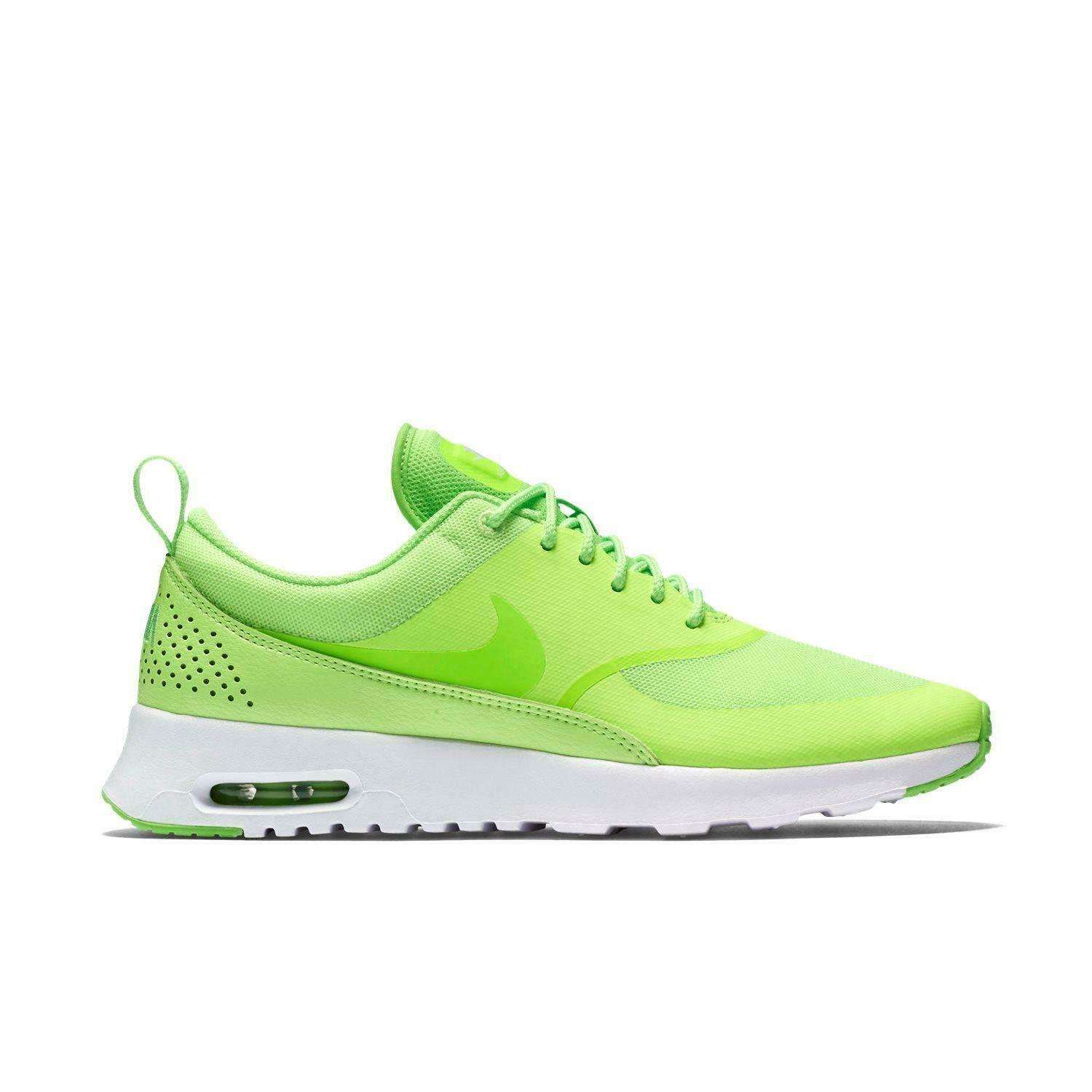 Womens NIKE AIR MAX THEA Green Trainers 599409 306