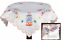 HAPPY BIRTHDAY Celebration Embroidered TABLECLOTH Runner Table Top Linens NEW