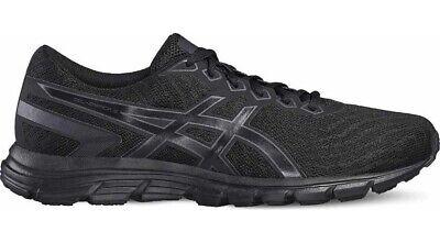 Mens Asics Gel Zaraca 5 T6G3N 9095 Black Lace Up Running Shoes Trainers | eBay