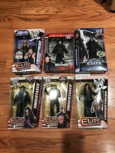 Wwe Elite Collection Meilleur de 2010 Undertaker Mattel