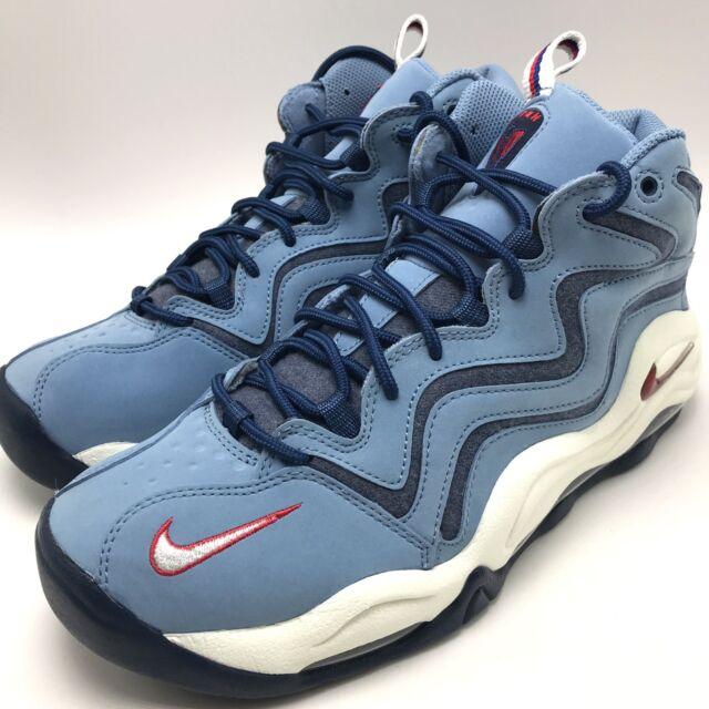 bb9e7a2e188c Nike Air Pippen Mens 325001-403 Work Blue Red White Basketball Shoes ...
