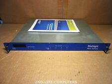 Dialogic TIMGDTI 4-Port Rackmount Media Gateway T1E1 LAN Serial DMG2120DTIQ