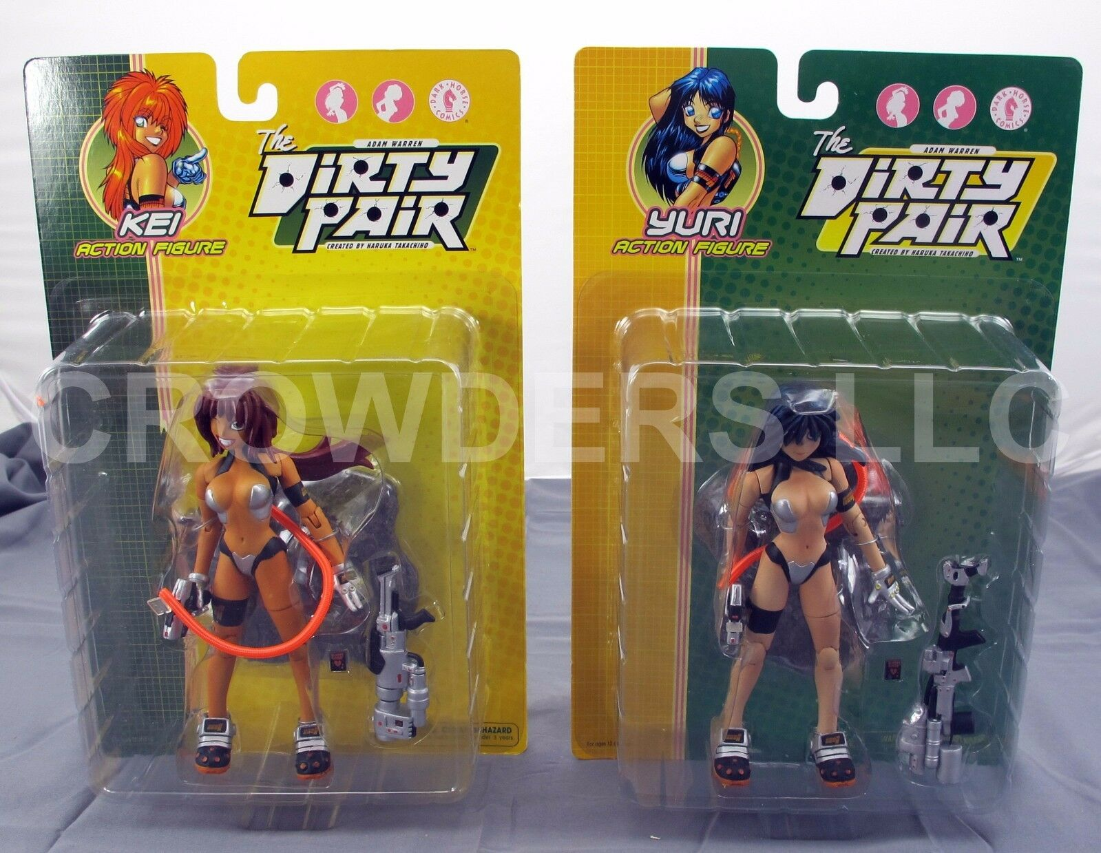 Adam Warren the Dirty Pair KEI & YURI 6.5