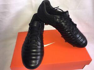 Nike Tiempo Legend VII FG Soccer Cleat ACC Academy Pack Blackout ... 4f4ec5f2d4c
