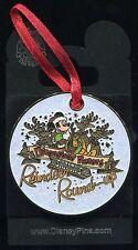 DLR Santa's Reindeer Round-Up Christmas Ornament Pin Disney Pin 58315