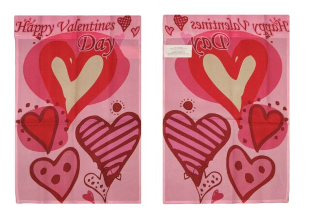Happy Valentines Day Flag 3x5ft Poly