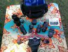 Asahi Pentax K1000 35mm slr camera lenses many extras vgc works Quantaray more