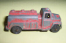 VintAGE TOOTSIE TOY  red gas truck tanker USA CHICA original patina very old