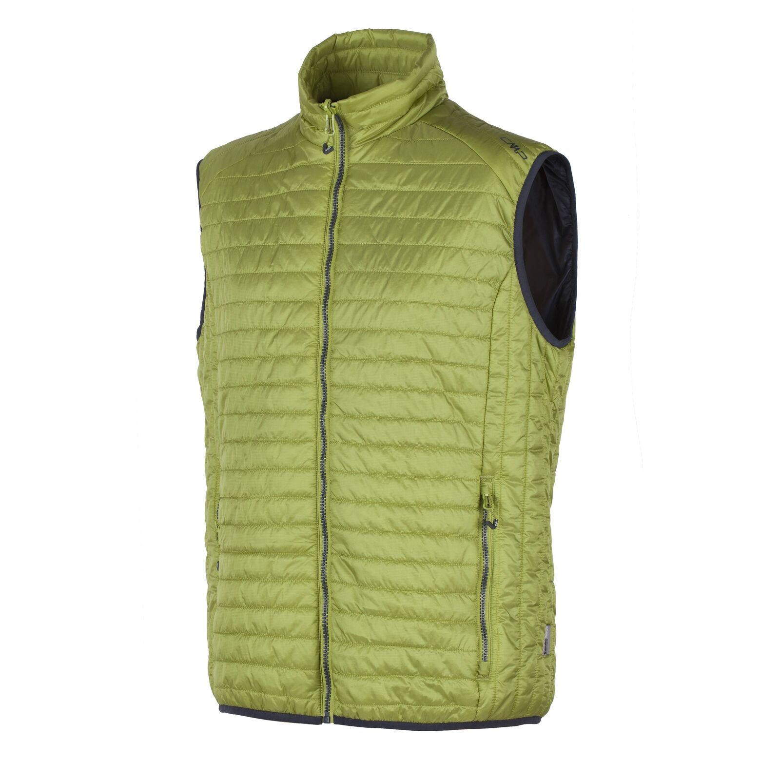 Función CMP chaleco bodywarmer verde claro primaloft ® thinsulate ™ caliente