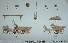 NAPOLEONIC FARM ACCESSORIES. AIRFIX BATTLE OF WATERLOO. 1/72 SCALE