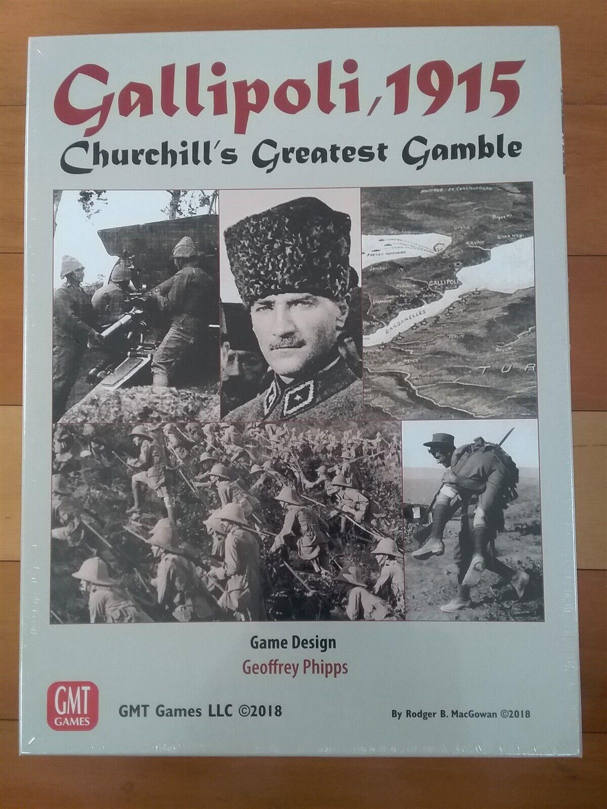 GMT spel Gallipoli, 1915