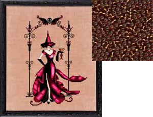 Mirabilia-Nora-Corbett-Cross-Stitch-Chart-with-Beads-Pack-ZENIA-223-Sale
