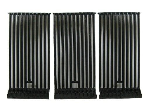 BroilMaster 62503 Gas Grill Gloss Cast Iron Cooking Grid Replacement Set of 3