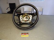 R129 500SL 600SL 300SL SL500 SL600 SL320 LEATHER STEERING WHEEL BLACK