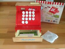 LE TOY VAN WOODEN Cash Register COMPLETE Boxed New